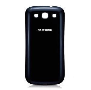 Coque-Cache-Capot-D-039-Origine-Noir-pour-Samsung-Galaxy-S3-i9300-Neuf
