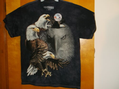 """BRAND NEW /""""3 D TEES /""""  MEN/'S  /"""" AMERICAN EAGLES/""""  S//S COTTON  T/'SHIRT..."""