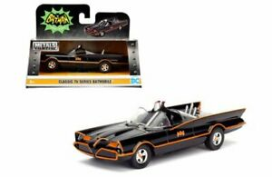 Jada-98225-Classic-Series-de-TV-Batimovil-Batman-1966-1-32-Diecast-Modelo-Coche-Negro