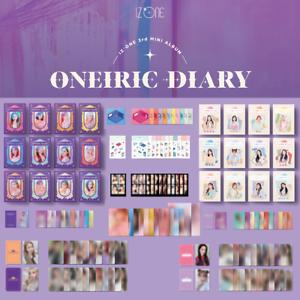 IZONE-IZ-ONE-Oneiric-3rd-mini-Official-Photocard-Case-Sticker-Poster-ETC
