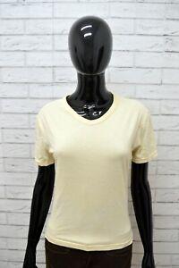 Maglia-DIESEL-Donna-Taglia-Size-L-Maglietta-Shirt-Woman-Maniche-Corte-Cotone