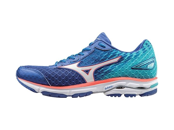 Mizuno Mizuno Mizuno Wave Rider 19 Donna Running Shoe (B) (342) | SAVE     b40076