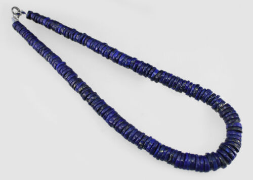Top Qualité Fantastique 794.00 cts naturel bleu lapis lazuli perles rondes collier