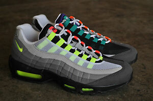 Nike Air Max 95 Greedy Og Qs 2015Nero/Sicurezza Arancione/Volt