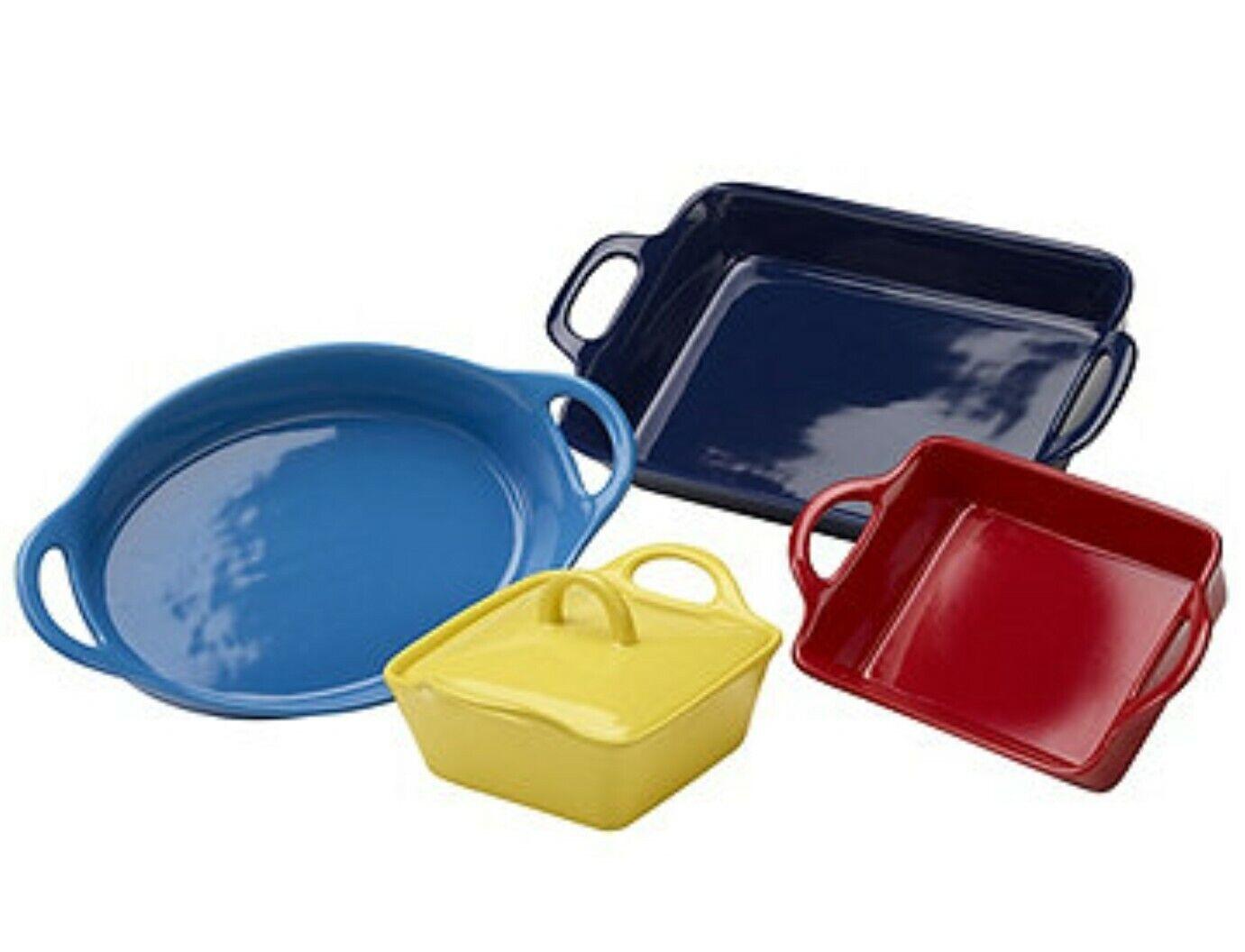 Chefs Mark Stoneware 5 Piece ColGoldt Bakeware Set
