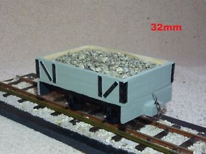 """""""GENUINE WOOD"""" SM32, 32MM, 16MM/FOOT, 1/19TH SCALE, NARROW GAUGE, LIVE STEAM,RTR"""