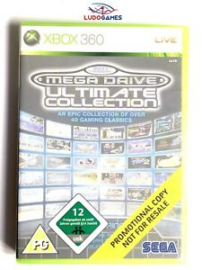 Megadrive-Ultimate-Collection-Xbox-360-Neuf-Scelle-Promo-Nouveau-Pal-Eur