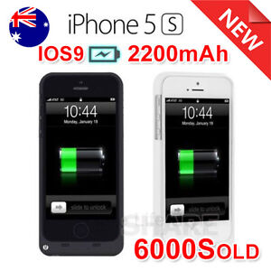 Iphone 5 5s External Power Bank Portable Backup Battery Charger Case