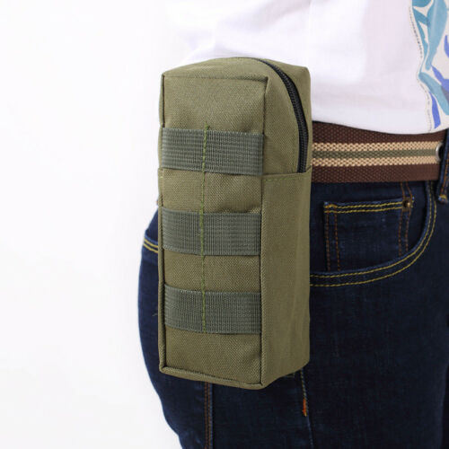 Outdoor Military Tactical Molle Waist Pack Utility Pouch Waterproof Sports Bag