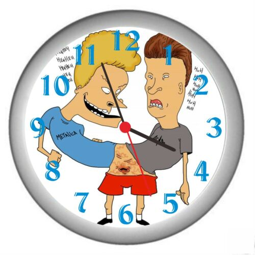 BEAVIS /& BUTTHEAD ROOM DECOR WALL CLOCK NEW