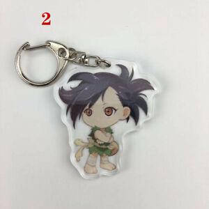 Anime Natsume Yuujinchou acrylic Keychain Key Ring Rare Straps