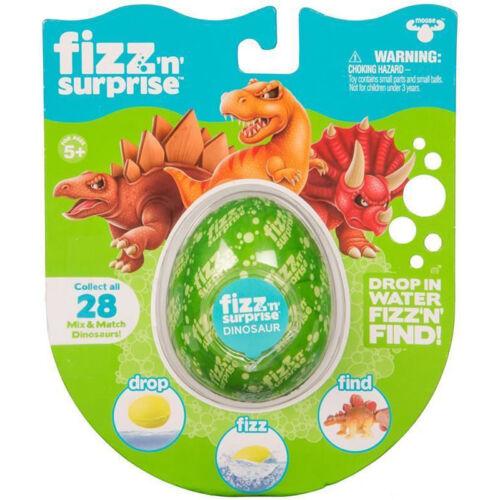 Fizz /'n/' Surprise Dinosaur Egg NEW
