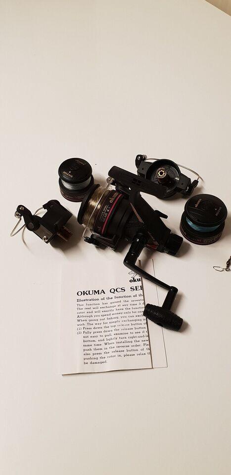 Fastspolehjul, Okuma QCS210