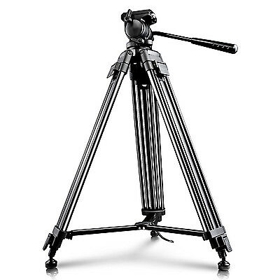 """Neewer 59""""/150cm Aluminum Tripod with 360 Degree Pan Head for Video Camcorder"""