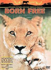 Born Free DVD 1965 Geoffrey Keen, Bill Travers Very Good!