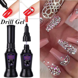 10ML-DIY-Nail-Art-Rhinestones-Gel-Glue-UV-Adhesive-Sticky-Gems-Diamond-Decor-JP