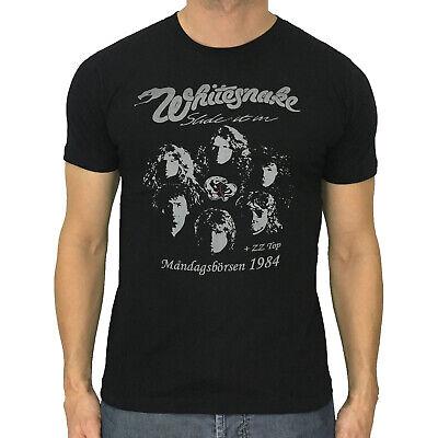 Whitesnake t-shirt David Coverdale 1984 rock band vintage retro