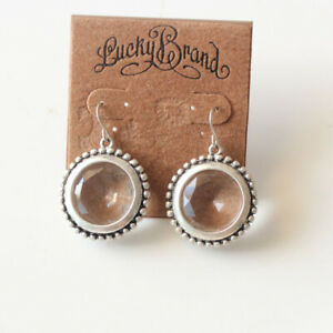 New-Lucky-Brand-Acrylic-Round-Drop-Earrings-Gift-Vintage-Women-Party-Jewelry-FS