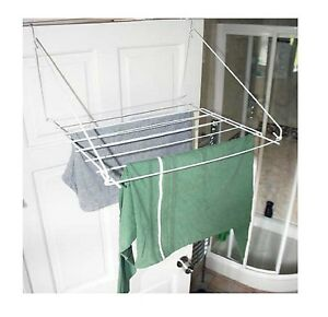 Charmant Image Is Loading Over Door Folding Airer Drying Rack Towel Rail