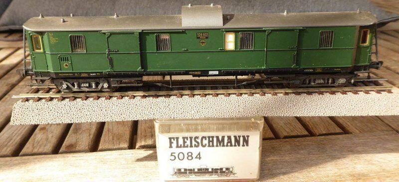 Fleischmann 5084 H0 Vagone Bagagli Della DRG Ep.2 108 108 108 601 Altona Eingestaubt in bae0ff