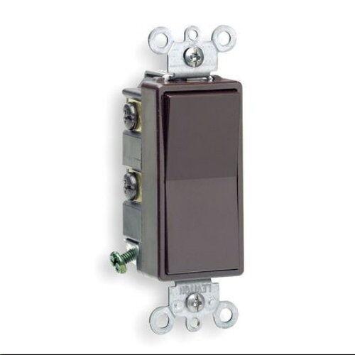 Leviton Brown Decora 4way Rocker Wall Light Switch 15a 56042 eBay