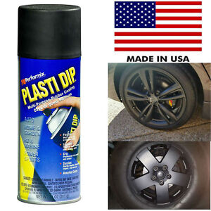 Plasti Dip Rubber Coating Spray Paint Matt Black Color Diy Car