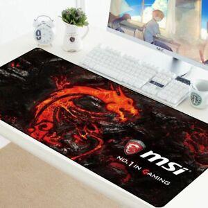 Gran-Gaming-Mouse-Mat-Pad-Para-Teclado-De-Escritorio-Grande-Gran-Tamano-Extra-densa-velocidad