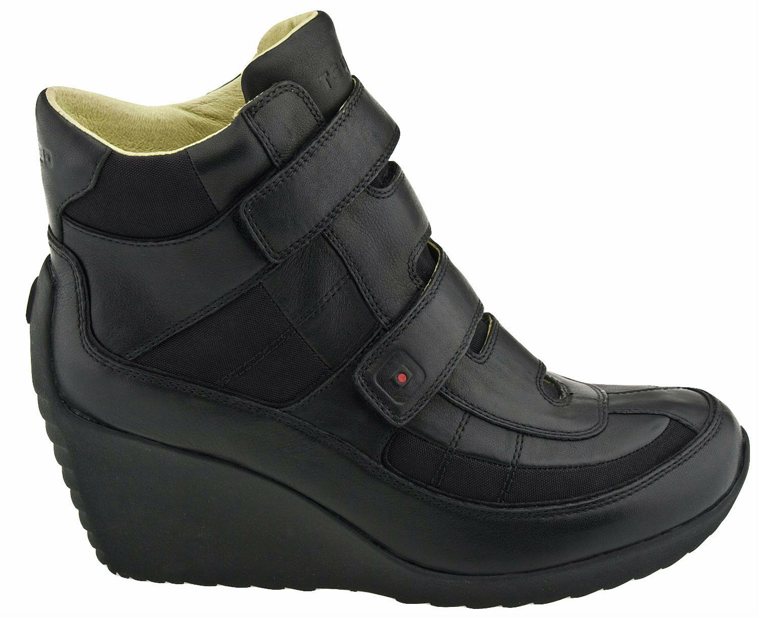 TSUBO Peary Strap women's boots compensé Cuir shoes US US US 8.5 UK 7 EU 39.5 rrp  8bebef