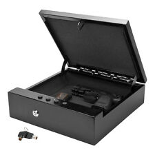 Button Keycode Pad Combination Lock Gun Safe Safety Portable Box Steel Hard Case