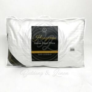 High-Quality-Hungarian-Goose-Down-Feather-Pillow-Soft-Luxury-Hotel-Pack-Of-1-2-4