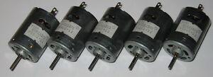 5-X-Mabuchi-RS-385SH-Motors-Knurled-Shaft-12V-DC-12500-RPM-Hobby-Motors