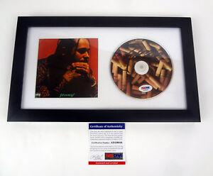 Post-Malone-Stoney-Signed-Autograph-CD-Framed-PSA-DNA-COA-B