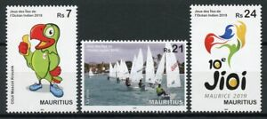 Mauritius-2019-MNH-Indian-Ocean-Island-Games-3v-Set-Sailing-Boats-Sports-Stamps