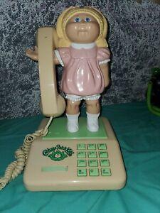 Vintage Cabbage Patch Kids Telefono Sin Probar Muneca Cabbage Patch Coleco Ebay
