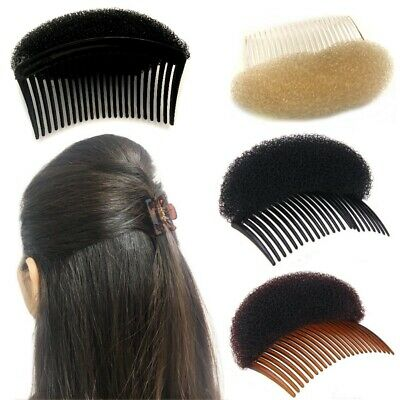 Bun Hair Puff Bump Magic 8cm Shaper Foam Comb Slide Fashion Styler Holder Braid Eine GroßE Auswahl An Farben Und Designs