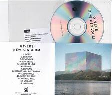 GIVERS NEW KINGDOM RARE 13 TRACK PROMO CD