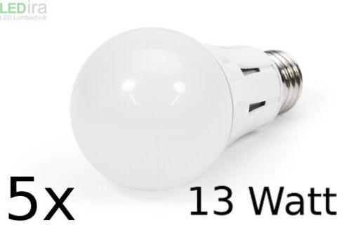 5 x SKC Skywing LED Profi Bulb 230V E27 13W 1055 Lm 3000K DIMMBAR