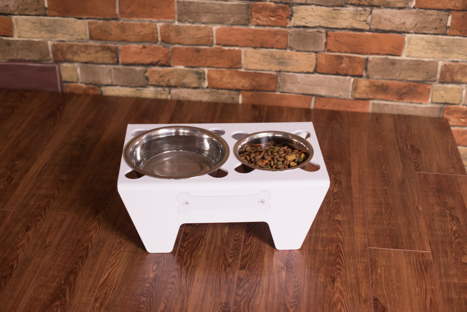 24 SETS Sips-n-Nibbles PET FOOD FOOD FOOD AND WATER DISH CAT DOG MICH MADE special order 4f74e3