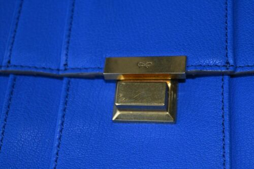 Mimosa Authentic £995 Electric Bag New Hindmarch Gracie Anya Shoulder Blue PpxdwYq