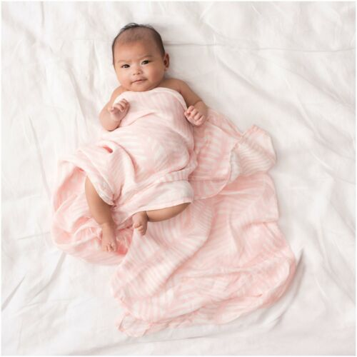 Anais SILKY SOFT SWADDLES 3 PACK Aden ISLAND GETAWAY Baby Bedding BN