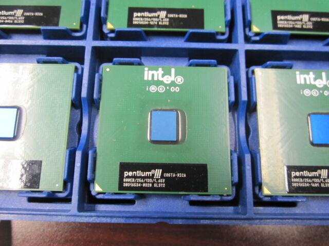 Vintage Intel Pentium III 800 MHz 800EB/256/133 SL3Y2 CPU Processor