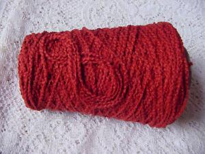 Handsome-RED-BERRY-Rich-Soft-Spiral-Cotton-Yarn-Knit-Crochet-Weave