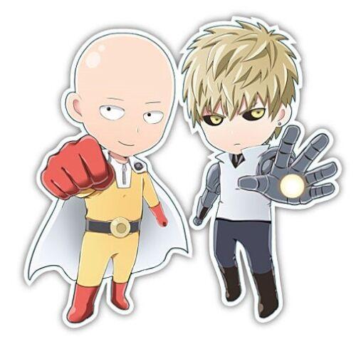 One Punch Man Saitama Anime Car Window Decal Sticker 002