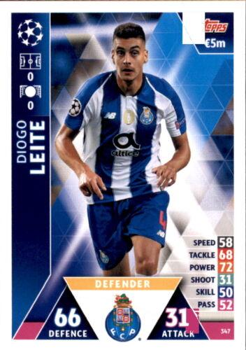 Carte 347-Diogo dirige Ligue des Champions 18//19