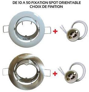 DE-3-A-50-FIXATION-SPOT-ENCASTRABLE-ORIENTABLE-GU10-BLANC-OU-ACIER-BROSSE