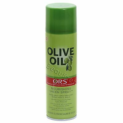 ORS OLIVE OIL Nourishing SHEEN SPRAY to Dry, Thirsty Hair 15.9 fl. oz