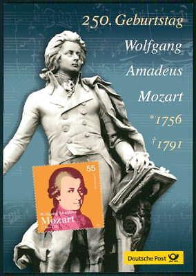 Kenntnisreich Brd Sk Sonderkarte 2006 Musik Mozart Komponist Music Composer U77 In Verschiedenen AusfüHrungen Und Spezifikationen FüR Ihre Auswahl ErhäLtlich Motive Musik