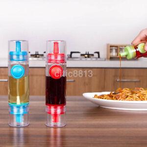 Image Is Loading New 2in1 Sprayer Oil Or Vinegar Bottle Plastic