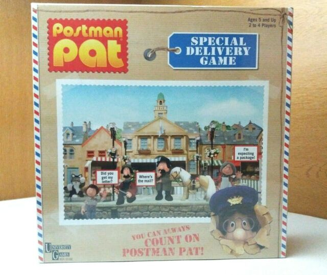 Postman Pat Special Delivery Board Game New and Sealed