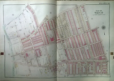 1918 WEST PHILADELPHIA PA LEWIS CASSADY SCHOOL N67 NORTH 69TH STREET ATLAS MAP